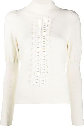 See By Chloé Suéter com detalhe bordado - Branco