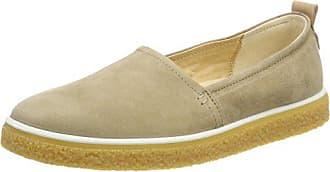 Ecco Womens Womens Crepetray Slip On Loafer, Navajo Brown, 41 Medium EU (10-10.5 US)