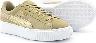 Designer | Puma Suede Platform Trace Wn S Grün Sneaker Damen