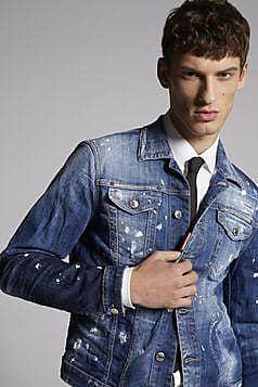 Dsquared2 DSQUARED2 - CAPISPALLA - Capispalla jeans sur DSQUARED2.COM 0d0fac792d86