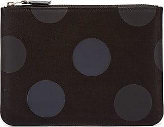 Comme Des Garçons Comme Des Garçons Wallet - Spot-print Cotton-twill Pouch - Mens - Black Multi