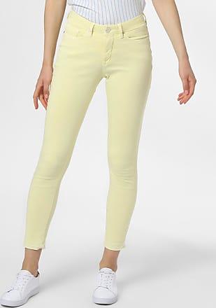 OPUS Damen Jeans - Elma 7/8 colored gelb
