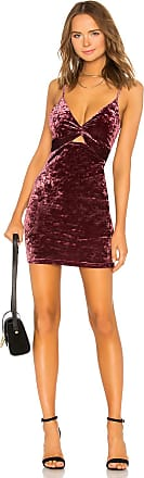 Free People Come Together Bodycon Dress in Wine