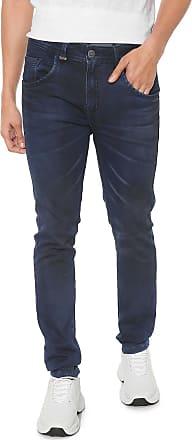 Zune Jeans Calça Jeans Zune Slim Mustache Azul
