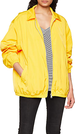 Tommy Jeans Womens Coach Jacket, Yellow (Dandelion 706), Small