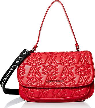 A X Armani Exchange A X Armani Exchange Womens Top Handle Bag, Red, One Size