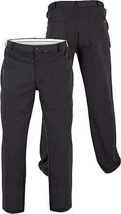 Duke London Duke Mens D555 Beck Bi-Stretch Five Pocket Trouser-Black-46W X 34L