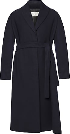 The Row Coat With Shawl Lepels Womens Navy Blue