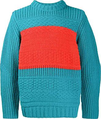 Paul Smith Suéter color block de tricô - Azul