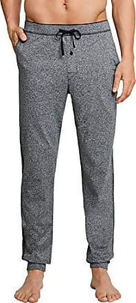 b28f8bb589 Schiesser Herren lange Schlafanzughose Loungehose Lang - 163762, Größe  Herren:58, Farbe: