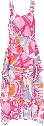 Emilio Pucci Printed cotton midi dress
