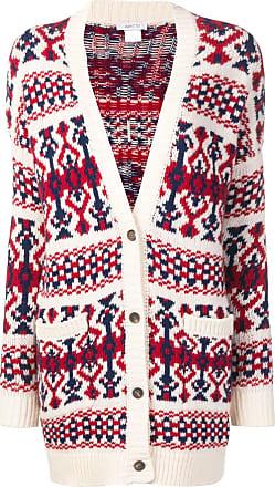 Avant Toi jacquard knitted cardigan - Neutrals
