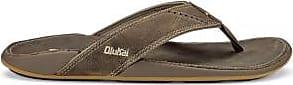 Olukai OluKai Mens Nui Leather Flip-Flops
