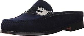 G.H. Bass & Co. Womens Wynn Clog, Blue, 6 M US