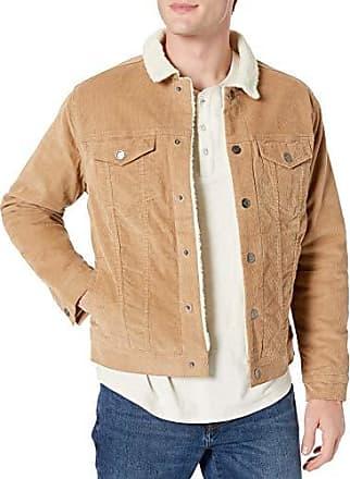 Polar Fleece Lined Sherpa Vest Outerwear Vests, Chiaro, US XL