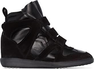 Isabel Marant Sneakers con zeppa Buckee - Nero