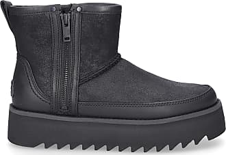 UGG Ankle Boots Black REBEL BIKER MINI