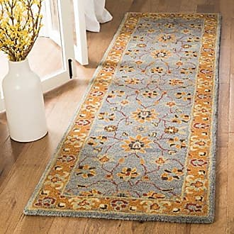 Safavieh Heritage Collection HG401A Blue and Orange Multi Runner (23 x 10)
