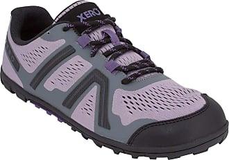 Xero Shoes Mesa Trail - Womens Lightweight Barefoot-Inspired Minimalist Trail Running Shoe. Zero Drop Sneaker Purple Size: 8 Wide