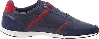 Lacoste Mens Menerva 120 1 CMA Trainers, Blue (NVY/Dk Red 5a5), 12 UK