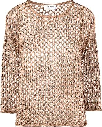 Snobby Sheep Blusa de tricô - Dourado