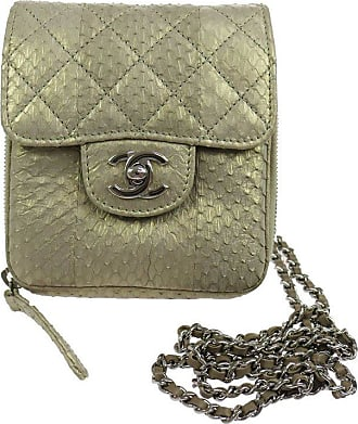 f0689ba2451b Chanel Python Iridescent Evening Wallet On Chain Woc Crossbody Shoulder Flap  Bag