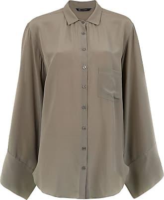 Uma General silk blouse - Di colore verde