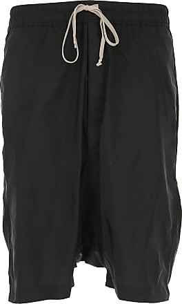 Rick Owens Shorts for Men On Sale in Outlet, Black, poliammide, 2017, L M S