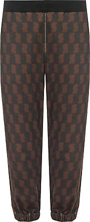 Undercover Patterned Sweatpants Womens Black