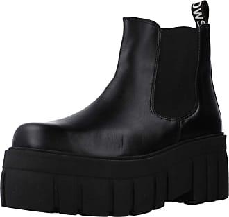 Yellow Women Womens Boots Tracked Black 3.5 UK