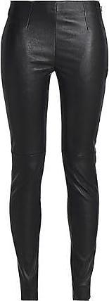 OAK Oak Woman Park Stretch-leather Leggings Black Size XL