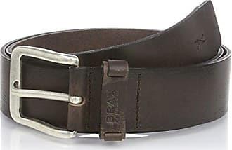 2842517e08521d Brax Herren Gürtel 50 - 0100, Gr. 120 cm, Braun (Dunkelbraun 52