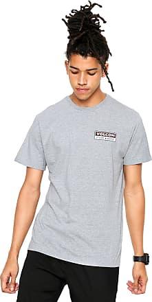 Volcom Camiseta Volcom Transporte Cinza d79eb4556d4