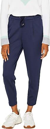 EDC by Esprit Womens 999cc1b811 Trouser, Blue (Navy 400), 8 (Size: X-Small)