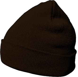 DonDon winter hat beanie warm classical design modern and soft brown