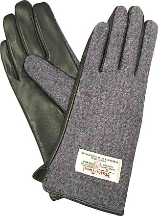 Ladies Genuine 100/% Harris Tweed Gloves With Leather Strap LB3001