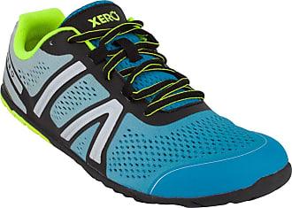 Xero Shoes HFS - Mens Lightweight Barefoot-Inspired Minimalist Road Running Fitness Shoe. Zero Drop Sneaker Blue Size: 11 Wide