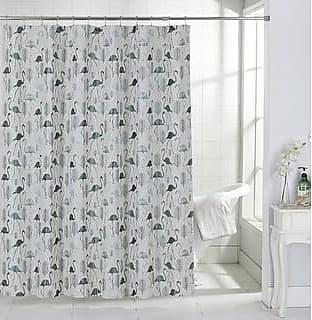 Pack of 12 Diamante Shower Curtain Hooks Bathroom Elegant Style Crystal Gems