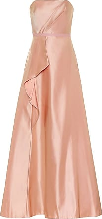 Marchesa Exclusive to Mytheresa - Satin bustier gown