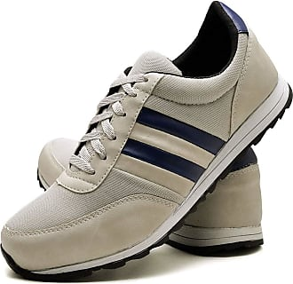 Juilli Sapatênis Sapato Casual Masculino Com Cadarço JUILLI 01DB Tamanho:40;cor:Branco;gênero:Masculino