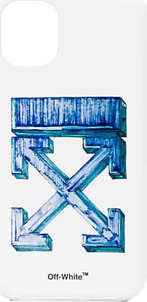 Off-white MARKER IPHONE 11 COVER WHITE BLUE - Branco