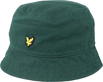 Lyle & Scott Cotton Twill Bucket Hat Jade Green-Hats