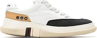 Osklen panelled sneakers - White