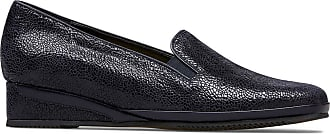 Van Dal Rochester II Loafer Wedge, Midnight Crackle Print, Size 3.5 UK