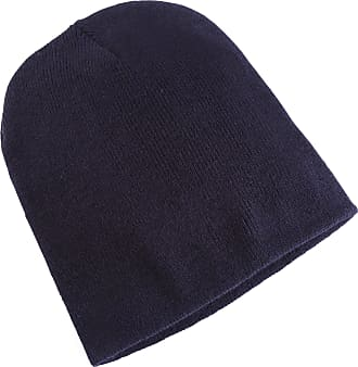 Yupoong Flexfit Unisex Heavyweight Standard Beanie Winter Hat (One Size) (Navy)
