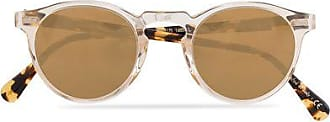 Oliver Peoples Gregory Peck Sunglasses Honey/Gold Mirror