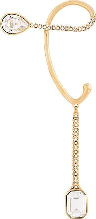 Fenty Puma by Rihanna Ear cuff com cristais - Dourado