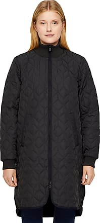 Ilse Jacobsen Ilse Jacobsen Quilted Coat with Soft Padding Inside and Special Quilt Pattern. | 100% Polyester | ART06 Black 42