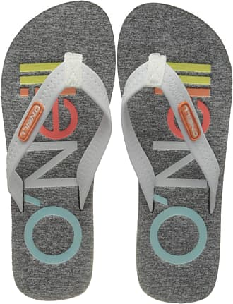 O'Neill Womens Fw Profile Fabric Sandalen Flip Flops, Grey (Silver Melee 8001), 6.5 UK