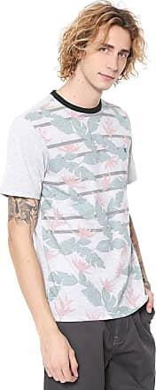 Hurley Camiseta Hurley Flower Cinza